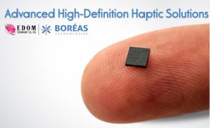 益登科技與Boréas結盟共同開拓高精度觸覺反饋商機