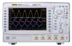 使用數字示波器DS6104測量交流信號的幅值和相位