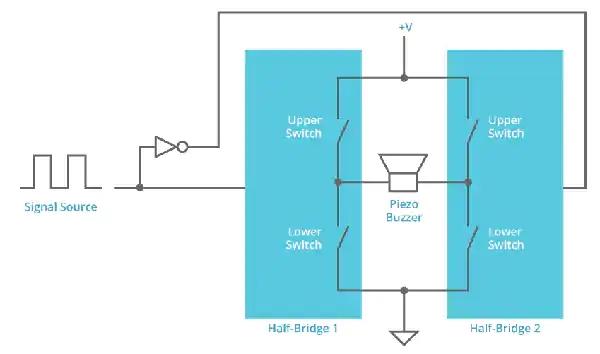 如何增加壓電變送器蜂鳴器音頻輸出?
