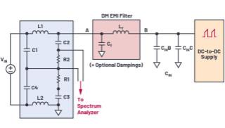 輕松快速設計開關模式電源EMI濾波器