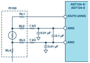 RTD比率式温度测量的模拟前端设计考虑