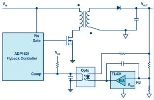 無需專用隔離反饋回路,簡潔的反激式控制器是醬紫滴~