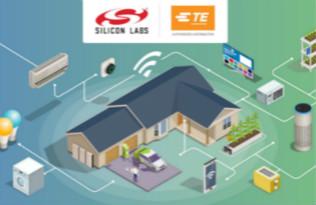 贸泽推出Silicon Labs和TE Connectivity智能家居解决方案网站