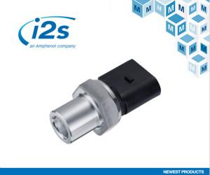 贸泽与Amphenol i2s 签订全球分销协议,进→一步扩充传感器产品阵容