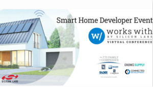 贸泽与TTI旗下公司联手赞助Silicon Labs的Works With 2020智能家居�y大会