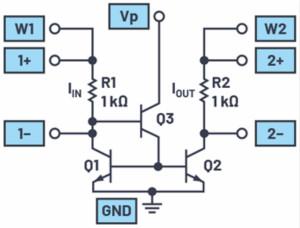 雙極性結型晶體管電流鏡