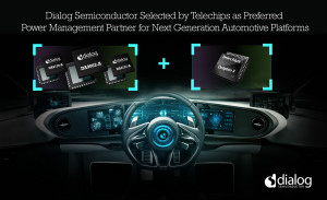 Dialog成為Telechips優選電源管理合作伙伴,助力下一代汽車平臺