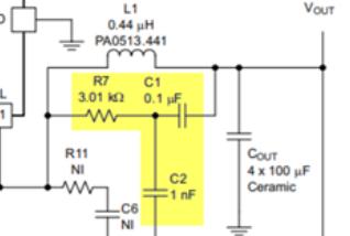 TPS53355纹波注入电路的设计