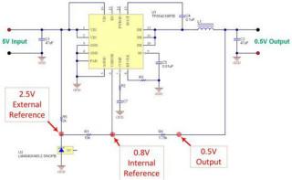 如何调节低电压非隔离式电源