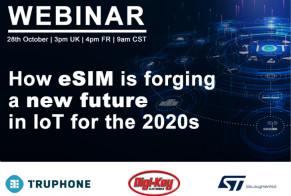 eSIM如何打造物聯網新未來?Digi-Key IoT Now eSIM網絡研討會為您解答