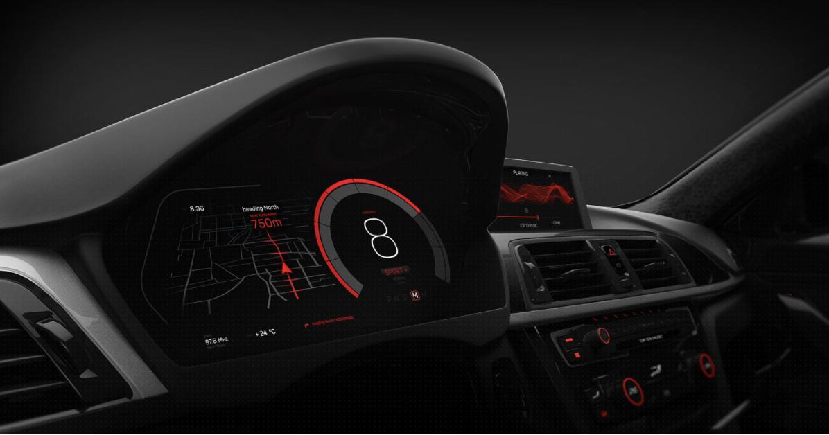 揭开电」动汽车数字仪表盘背后的秘密
