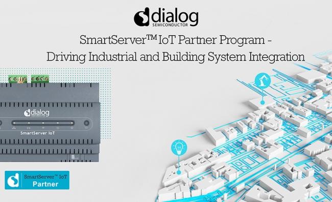 Dialog启动针对智能楼宇和智慧工厂边缘解决方案的SmartServer IoT合作伙伴生态系统