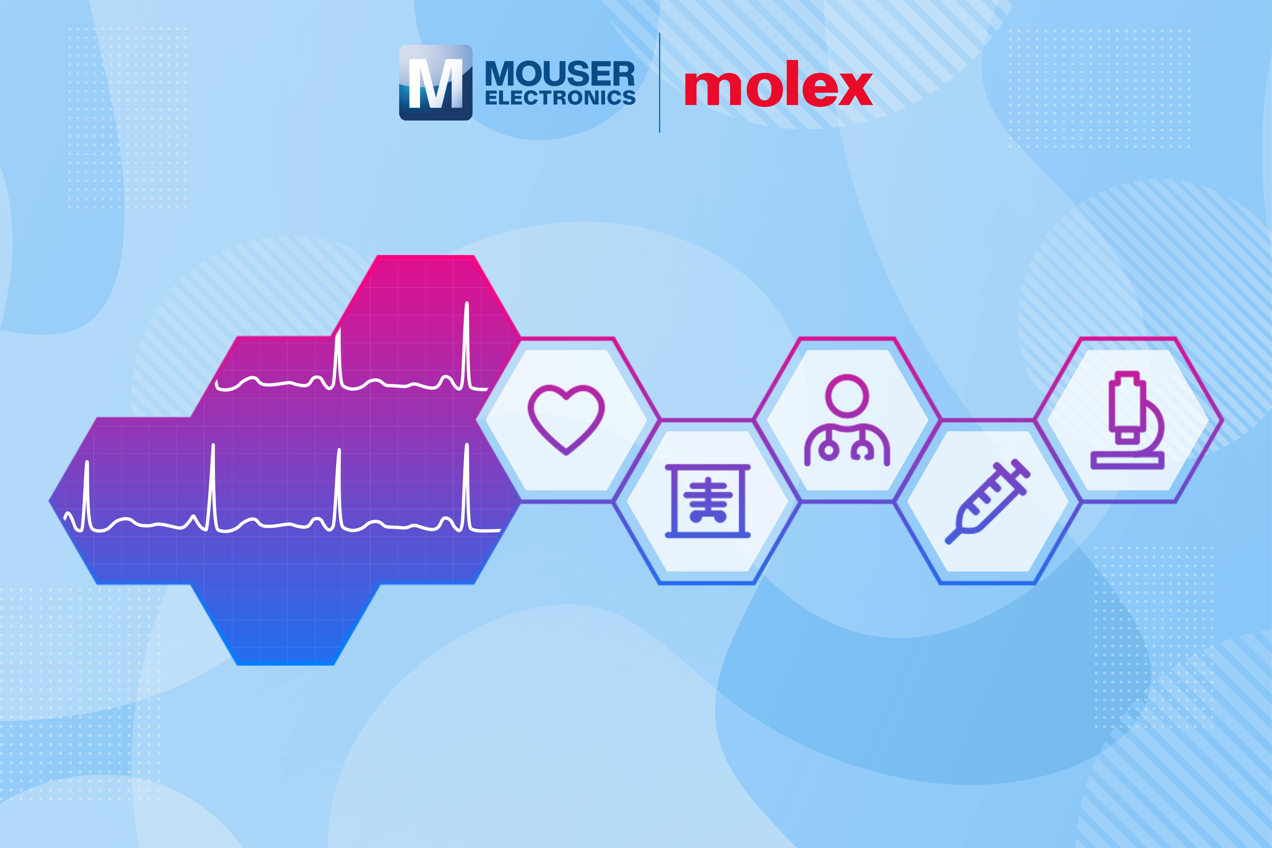 贸泽与Molex联手推出医疗解决方案专题网站