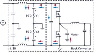 傳導輻射測試中分離共模和差模輻射的實用方法