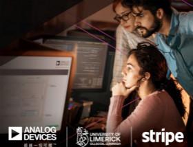 ADI携手利默里克大学和Stripe,通过软件技术合作推进工程教育变革