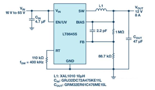 宽输入范围和高输出电流单片式解决方案