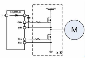 如何优化48V轻混电动车(MHEV)的电机驱动器设计