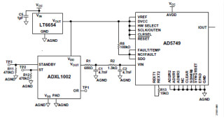 10kHz MEMS加速度計,提供4mA至20mA輸出,適合狀態監控應用