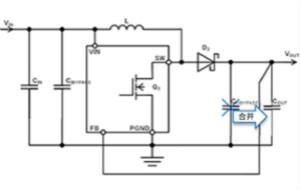 使用同步整流型IC時的電路板布局