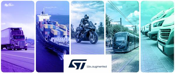 贸泽联手STMicroelectronics打造全新资源网站以多样化的内容助力交通运输原型设计