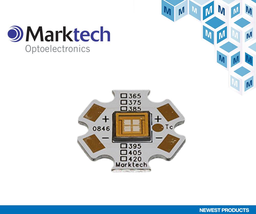 贸泽电子宣布与Marktech Optoelectronics签订全球分销协议