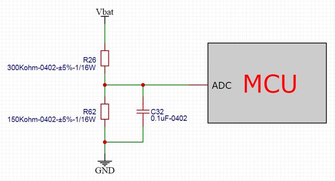 """电池电压侦测电路""""踩坑"""":分压电阻的精度竟然是5%,不是1%"""