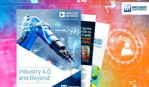 貿澤與ADI聯手推出新電子書《Industry 4.0 and Beyond》