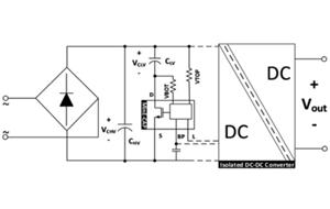 使用氮化鎵IC對離線式電源的大電容進行優化