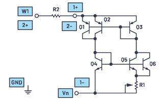 ADALM2000實驗:浮動(2端口)電流源/吸電流