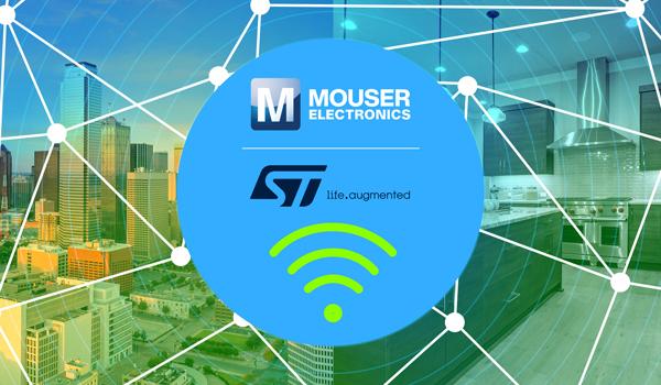 貿澤電子聯手STMicroelectronics推出全新內容網站聚焦無線解決方案