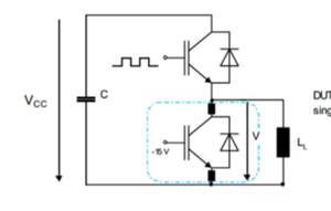 IGBT换流回路中杂散电感的测量