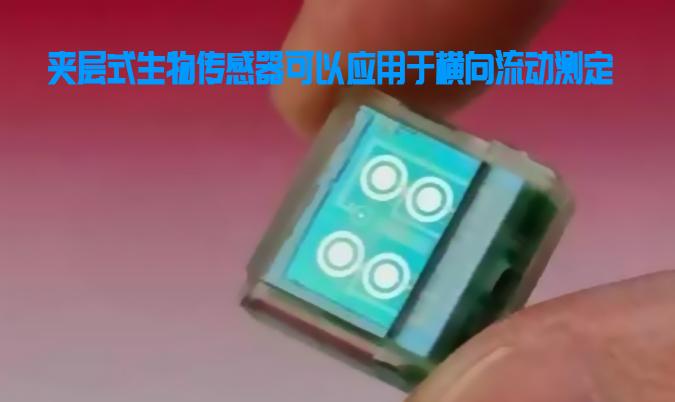 夹层式生物传感器可以应用于横向流动测定