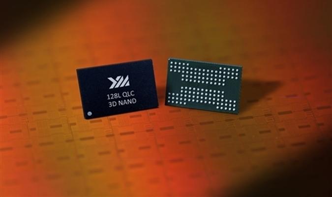 長江存儲128層QLC 3D閃存研制成功