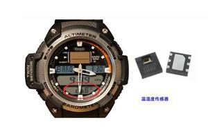 在智能运动手表中应用到的传感器