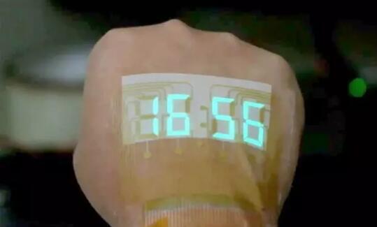 贴纸式的手表?一种新型可伸缩LED装置问世