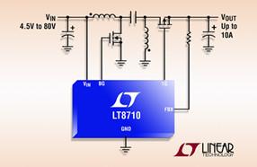 凌力尔特推出首款多拓扑同步 DC/DC 控制器