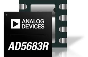 ADI公司近日宣布推出小封装数模转换器AD5683R