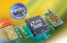 linear推出可延长WSN主电池的使用寿命的电源管理器IC