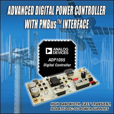 ADI成功推出高级数字控制器ADP1055