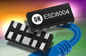 安森美半导体推出低电容、低钳位电压ESD保护器件
