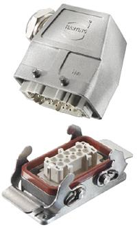 HARTING推出适用多领域的Han® High Temp连接器