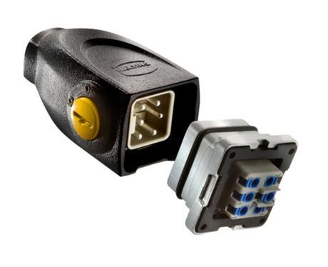 浩亭新型Han-Yellock® 10满足从能源供应到数据传输的所有需求