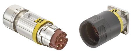 浩亭Han® X-TEC 圆形连接器为所有传动装置提供定制解决方案