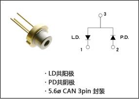 罗姆推出传感器用635nm频带纯红色半导体激光器 RLD63NZC5系列