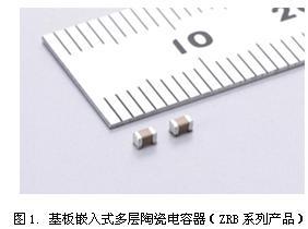 Murata发布世界首例与MLCC相同大小的基板嵌入式多层陶瓷电容器