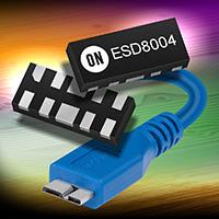 安森美半导体推出针对下一代接口的低电容、低钳位电压ESD保护器件