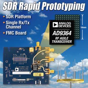 ADI公司再推两款SDR平台解决方案