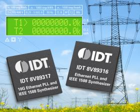 IDT 推出业内首个 Ethernet 和 IEEE 1588 计时器件