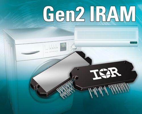 IR推出第二代智能功率模块系列IRAM SIP1A Gen2 模块
