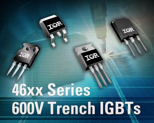 IR扩充坚固可靠的600V节能沟道IGBT系列